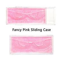 40 шт./лот Профессиональный чехол накладка с держателями для полноразмерных ресниц прозрачный чехол для 3D ресниц из норки