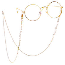 HOOH 1Pcs Women Pendant Eyeglass Chains Moon Stars Glasses Chain Eyewears Cord Holder Neck Strap Rope Eyeglass Lanyard 61/70cm(China)