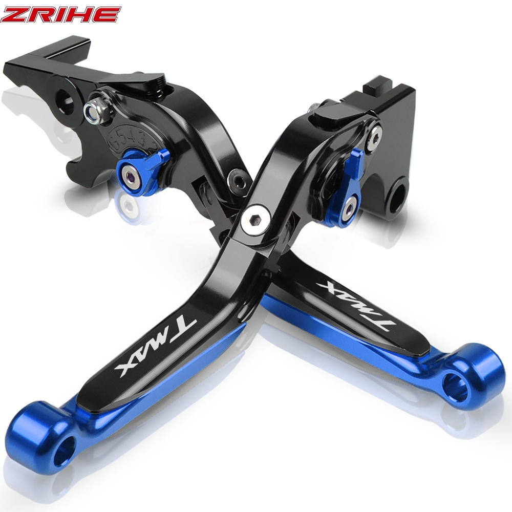 FOR <font><b>YAMAHA</b></font> <font><b>TMAX</b></font> 530 <font><b>2001</b></font> 2002 2003 2004 2005 2006 2007 Motorcycle Accessories Folding Extendable Brake Clutch Levers TMAX530 image