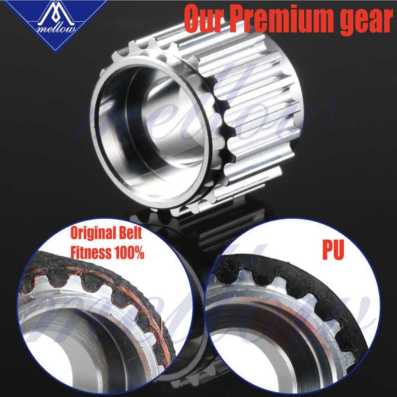 רך אישית Prusa i3 MK2S/MK3 3d מדפסת בטלן גלגלת, 16 שיני גלגלת, GT2 רוחב 6MM GATES-LL-2GT סינכרוני עיתוי חגורה