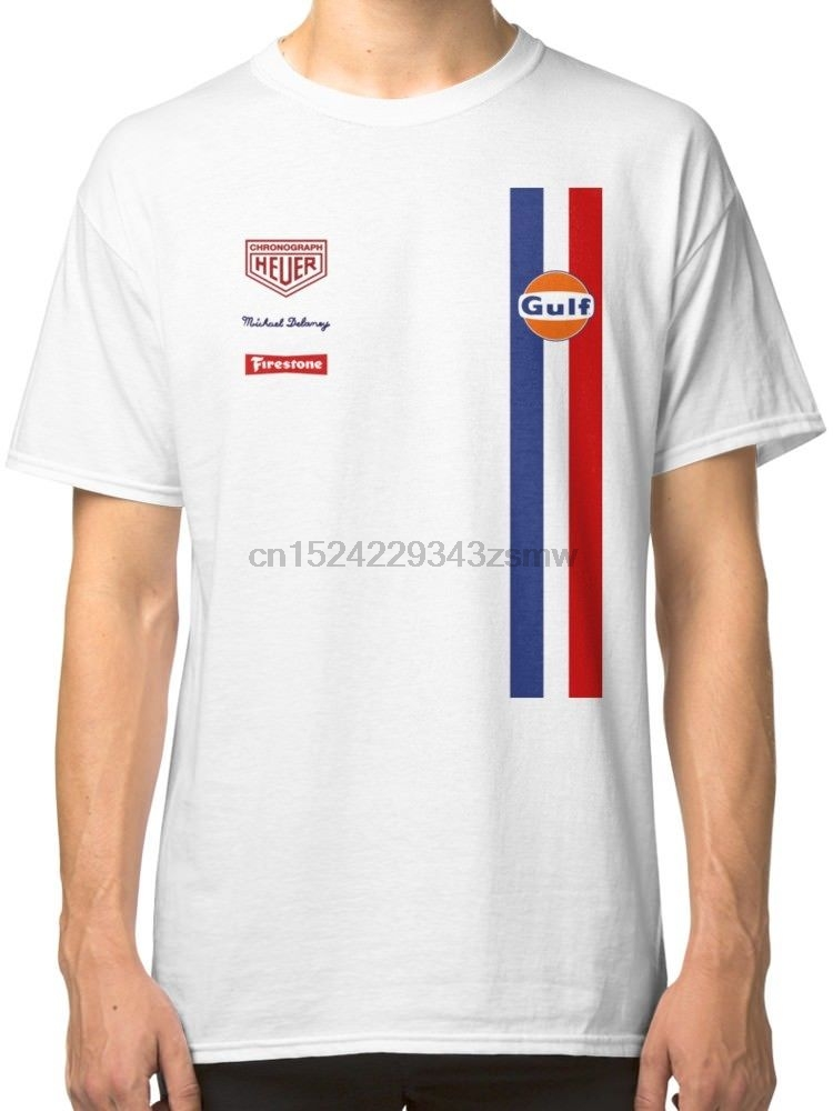 GP Crew 007 1971 Le Mans 917 K Gulf Racing T-Shirt Unisex Size