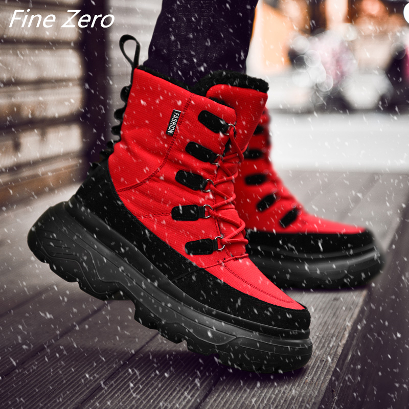 Hot Sale Winter Boots Men Warm Snow