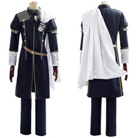 Fire Emblem Cosplay Three Houses Cindered Shadows Yuri Cosplay Costume Adult Men Women Halloween Carnival Party Costumes