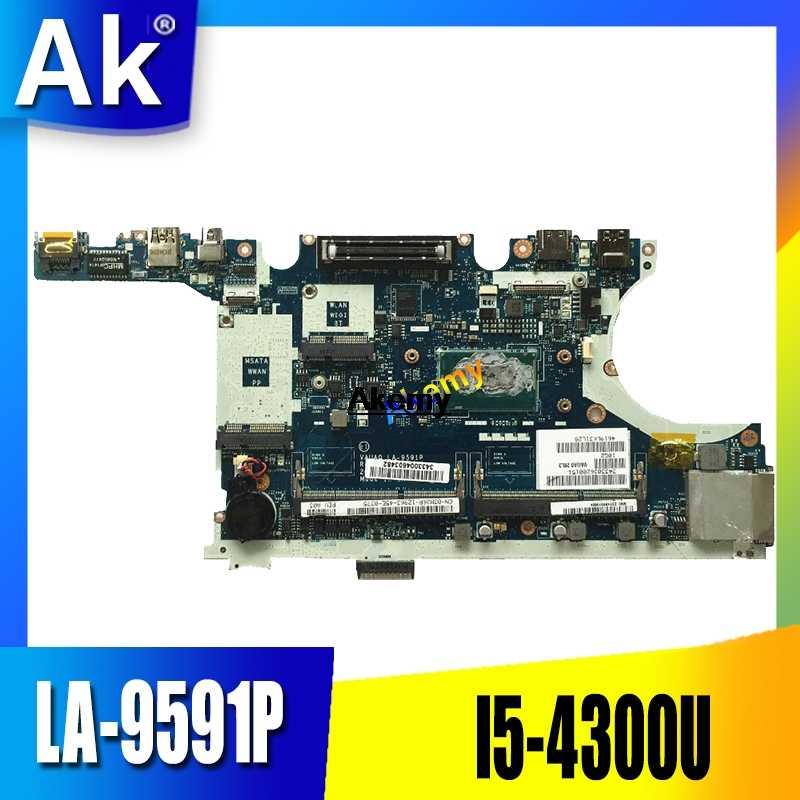 نظام اللوحة الرئيسية LA-9591P لديل Latitude E7440 اللوحة الأم مع وحدة المعالجة المركزية i5 4310 2 GHz 624W6 CN-0624W6