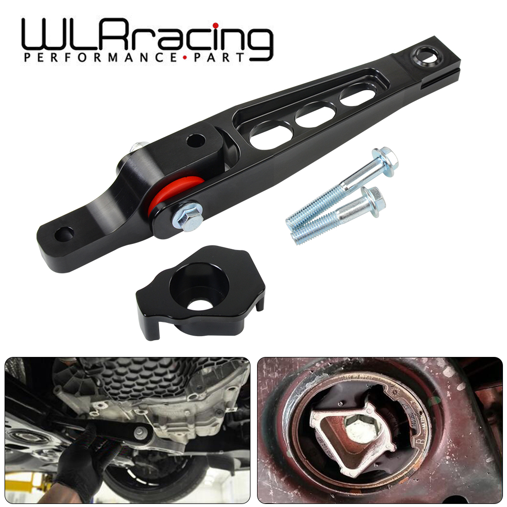 WLR - Spherical Pendulum Mount + Billet MQB Dogbone Mount Insert For 15+ AUDI 8V/8S A3 TT VW Mk7 Golf GTi Skoda Seat 5Q0198037