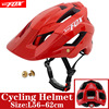 2019 corrida capacete de bicicleta com luz in-mold mtb estrada ciclismo capacete para homens mulheres ultraleve capacete esporte equipamentos de segurança 26