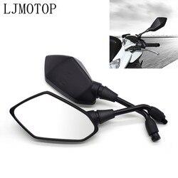 Universial 10mm Motorcycle Mirrors Racing Sport Bike Rear View Mirror For Suzuki Bandit 650S DL1000 GSF 1250 1200 650 BANDIT