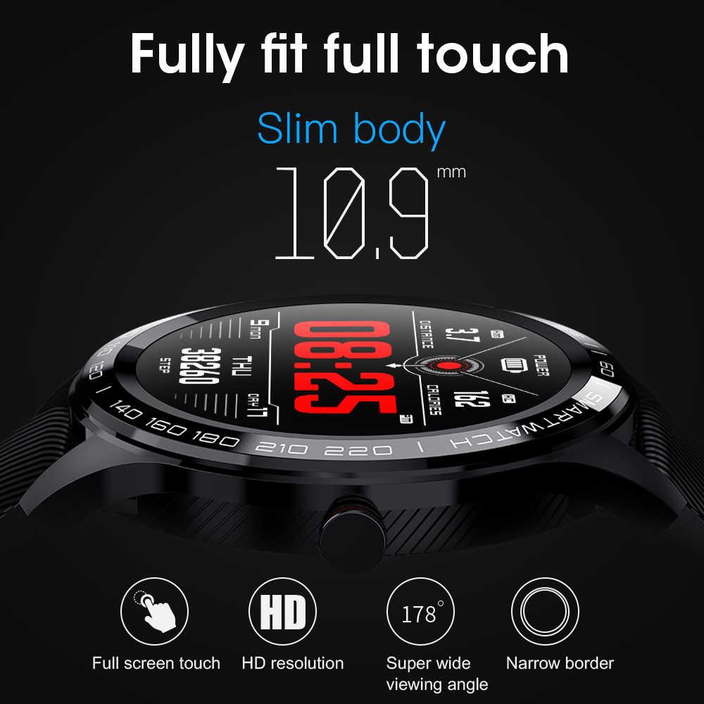 Torntisc Smart Watch ECG Heart Rate Calls Reminder Full Touch Smartwatch IP68 Waterproof Watch Men Android IOS PK GT2