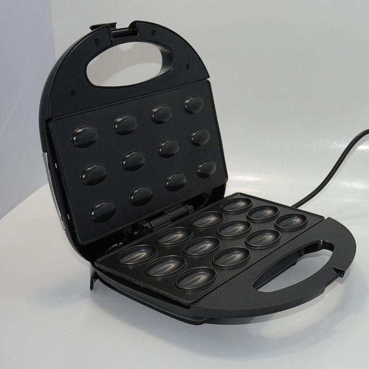 Electric Walnut Cake Maker Automatic Mini Nut Waffle Bread Machine Sandwich Iron Toaster Baking Breakfast Pan Oven EU Plug