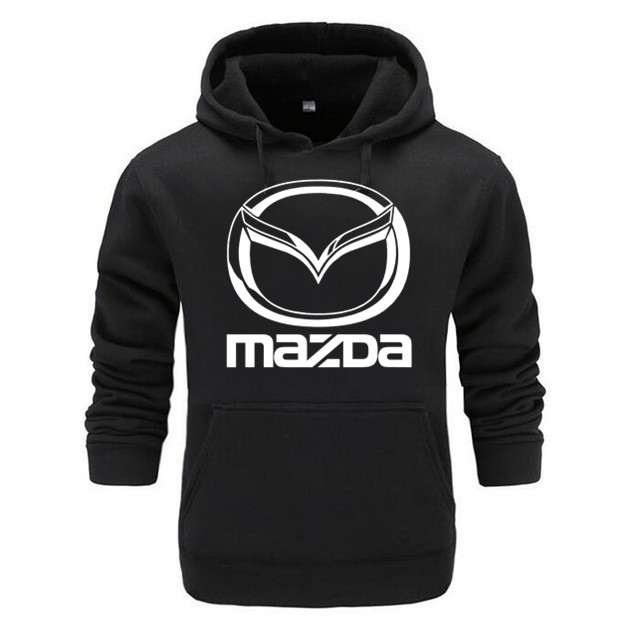 Free Shipping Fashion  Solid Colour Mazda Hoodies Cool Men's Hoodies Tops Men Hoodies Cotton Casual Clothes
