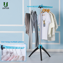UNTIOR Stainless Drying Rack Hanger Portable Foldable Floor Stand Clothing Hanging Rack Laundry Magic Drying Rack For Clothes