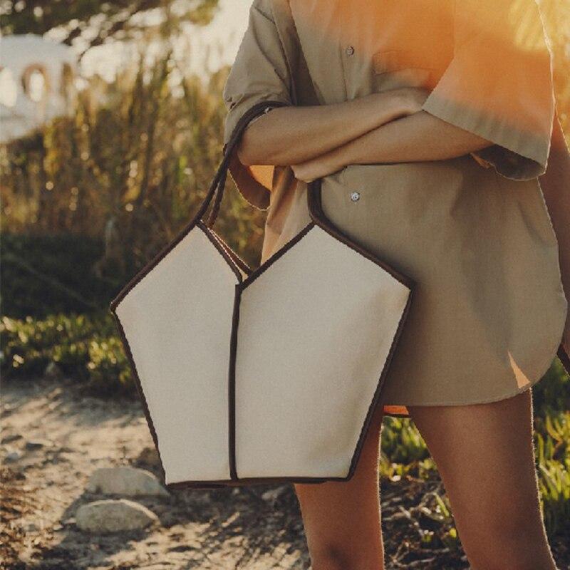 alça bolsa de ombro cor sólida designer