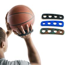 1pc Silicone Shot Lock Basketball Ball Shooting Trainer Training Accessories Three-Point Size S/M/L for Kids Adult Man Teens newly 2 finger silicone shot lock basketball training posture correction device ball shooting trainer sd669