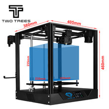 Twotrees האיחוד האירופי רוסית מחסן 3D מדפסת ספיר פרו מדפסת DIY BMG מכבש COREXY ספיר DIY ערכות 3.5 אינץ מגע מסך
