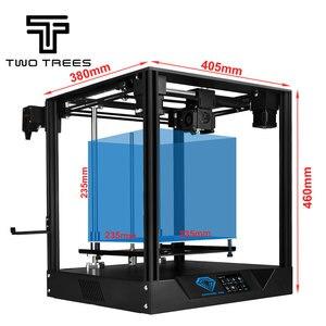 Image 1 - Twotrees האיחוד האירופי רוסית מחסן 3D מדפסת ספיר פרו מדפסת DIY BMG מכבש COREXY ספיר DIY ערכות 3.5 אינץ מגע מסך