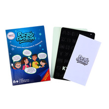 A4 Drawing Board Writing Magic Pen Educational Toy Draw Light Russian Language Kid With Night Noctilucent In Dark Children Funny