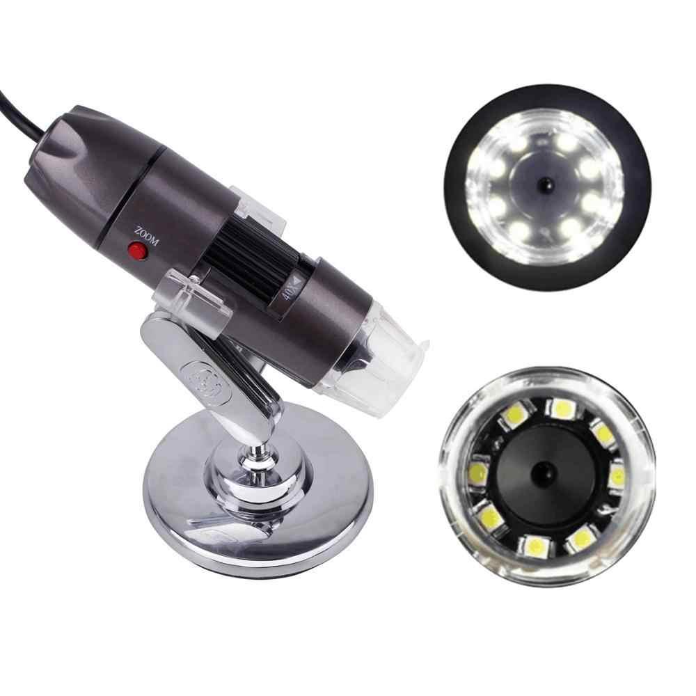 500X 800X 1000X cyfrowy USB lupa mikroskopowa biologicznych mini kieszonkowy mikroskopy dla elektroniki dla dzieci