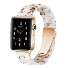 Resin watch band strap For Apple Bracelet iwatch Wrist Belt Watch Accessories Watchband