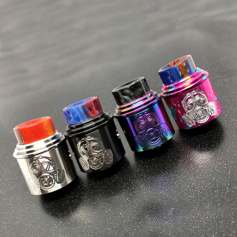 Apocalypse GEN 2 RDA Atomizer RDA 24mm Rebuilding Dripping Tank With Squonk BF PIN For 510 Electronic Cigarette BOX Mod