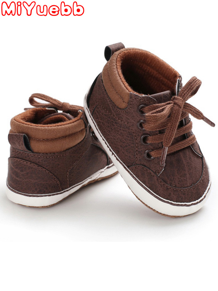 Solid Color Sneakers For Children Baby Rubber Sole Suede Trainers Cross Straps Pop Elements Children'S Shoes 2020 New Baby Shoes