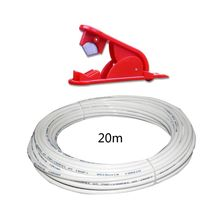 """1/4"""" White PE Pipe Flexible Tube Hose for RO Water Filter System Aquarium Revers High Quality and Brand New"""