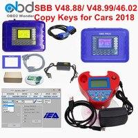 2019 SBB Pro2 V48.88 V48.99 V46.02 + Mini Zedbull Auto Key Programmer SBB Pro 2 48.88 48.99 Version Zed Bull OBD2 Key Maker