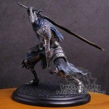 Karanlık ruhlar Faraam şövalye/Artorias en Abysswalker/siyah şövalye/gelişmiş şövalye savaşçı PVC Figure koleksiyon Model oyuncak