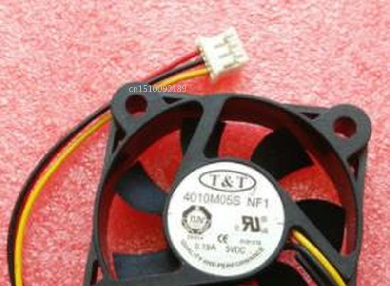 For Original 4010M05S NF1 DC5V 0.19A 40*40*10MM 4 Cm 3 Wire Cooling Fan Free Shipping