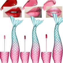 2019 Hot Waterproof Mermaid Lip Gloss Matte Liquid Lipstick Metallic Shimmer Lipgloss Cosmetics Makeup Tint