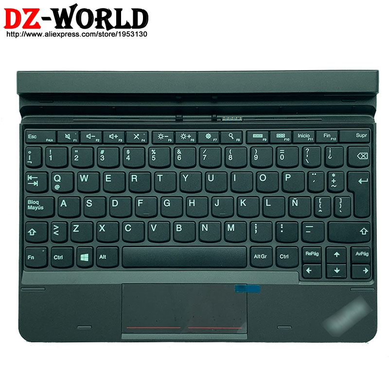 Ella 2 Canadian French New Original Base Docking 2-in-1 Tablet Expansion Keyboard For Lenovo Thinkpad 10 Ultrabook 03X9111 Malaysia