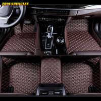 Custom car floor mats for Volkswagen All Models vw passat polo golf tiguan jetta touran touareg EOS car styling auto floor mats