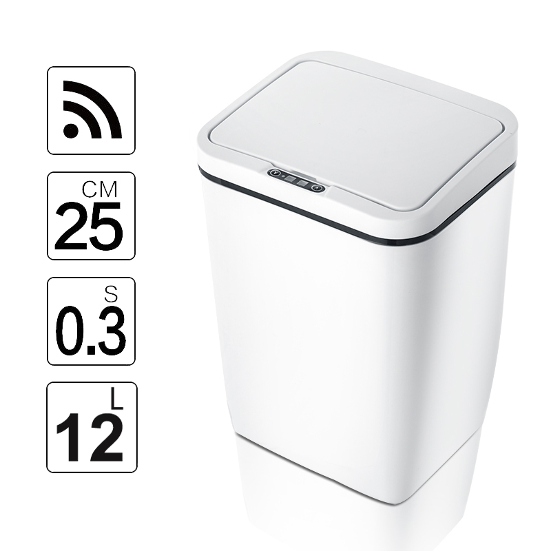 Kitchen Trash Waste-Garbage-Bin Induction-Motion-Sensor Touchless Intelligent Eco-Friendly