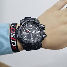 цена 2020 New S Shock Men Sports Watches Big Dial Sport Watches For Men Luxury Brand LED Digital Military Wrist Watches онлайн в 2017 году
