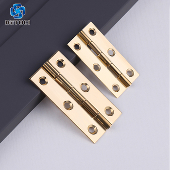 BETOCI 4PCS pure copper door hinge brass hinge copper core small hinge cabinet door hinge with small screws furniture hardware цена 2017