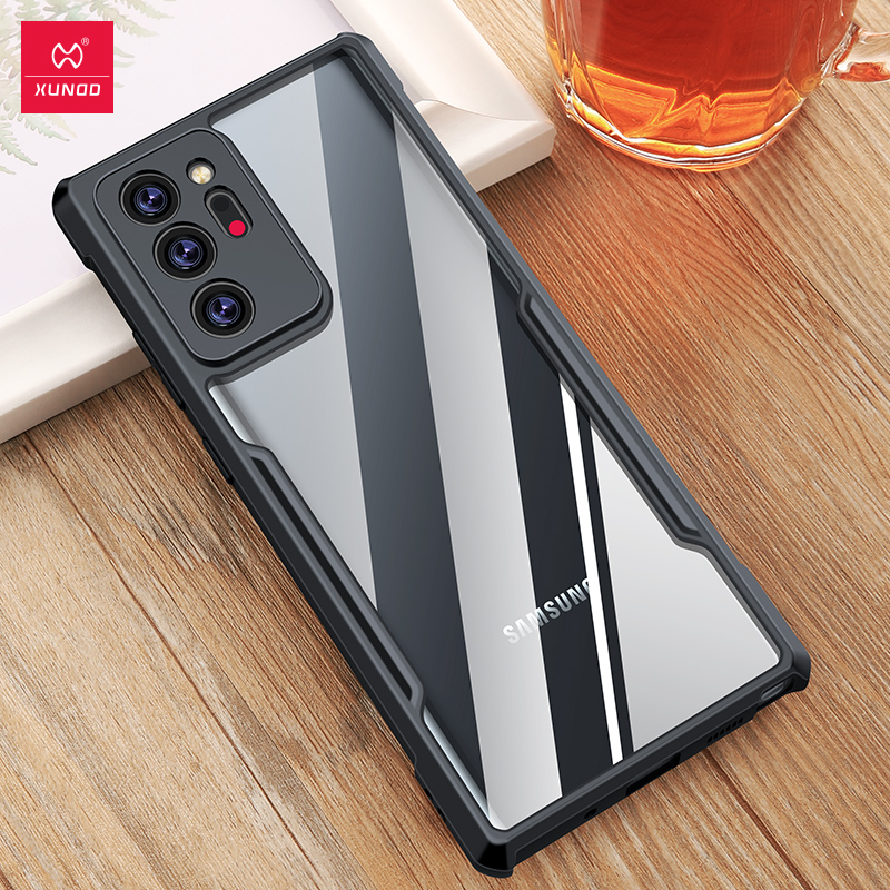 Note20 Ultra Case For Samsung Galaxy Note20 Ultra Case Airbag pumper Shockproof Cases Transparent Shell Samsung note 20 Cover Phone Case & Covers  - AliExpress