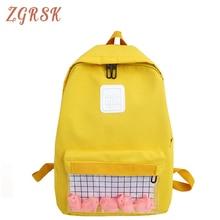 High Quality Waterproof Nylon Backpacks Bagpack Women Backpack Bag Schoolbags For Teenagers Girls Female Back Pack