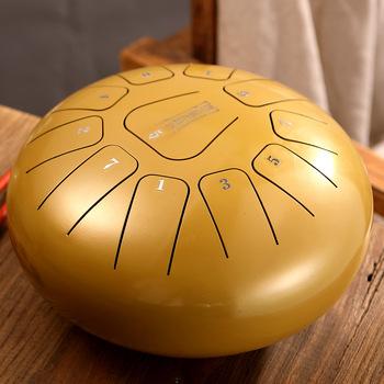 8 Cal Mini bęben eteryczny bęben stalowy język 11 ton klucz C instrumenty perkusyjne instrumenty muzyczne tanie i dobre opinie Stopu tytanu 8 inch Wielofunkcyjny all-in-one typu 10 cal B001 metal Drum + Finger + English textbook white red black gold grown