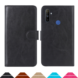 На Алиэкспресс купить чехол для смартфона luxury wallet case for oppo realme narzo 10a pu leather retro flip cover magnetic fashion cases strap