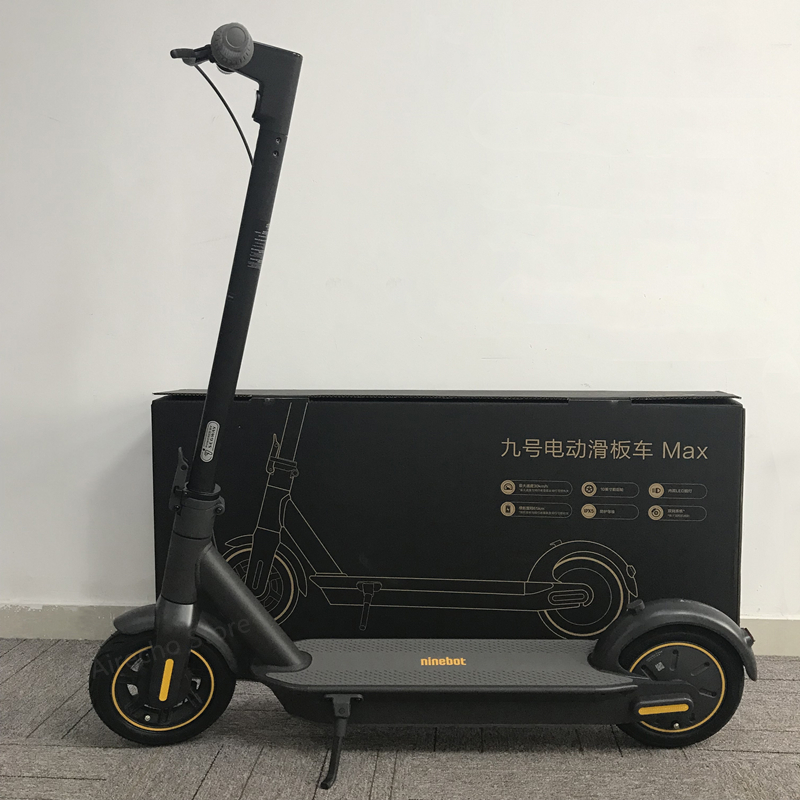 EU Stock Smart Electric Scooter the Latest Version KickScooter foldable Dual Brake Skateboard With APP