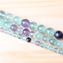 Fancy Stone 4/6/8/10/12mm Natural Gem Stone Polished Smooth Round Beads For Jewelry Making DIY Bracelets
