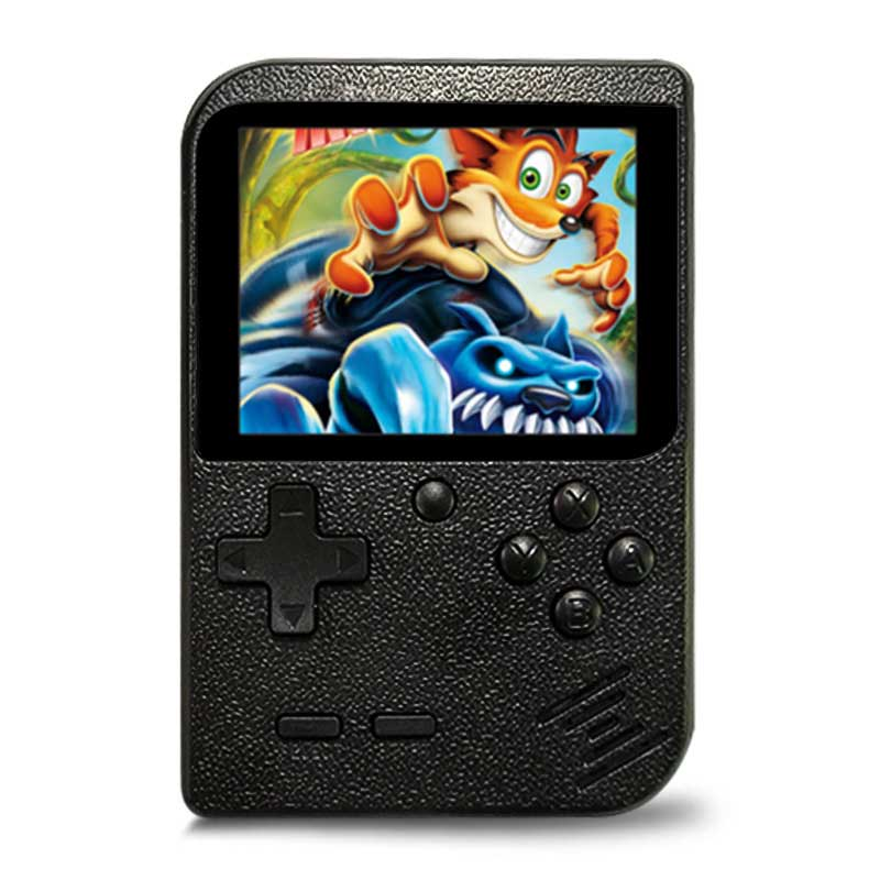 Retro Portable Mini Handheld Game Console 8-Bit 2.8 Inch Color LCD Kids Color Game Player Built-in 500/168 Games