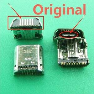 Image 2 - 10 개/몫 마이크로 USB 플러그 충전 포트 커넥터 소켓 삼성 탭 3 7.0 I9200 I9205 P5200 P5210 T530 T210 T211 T311 I9208