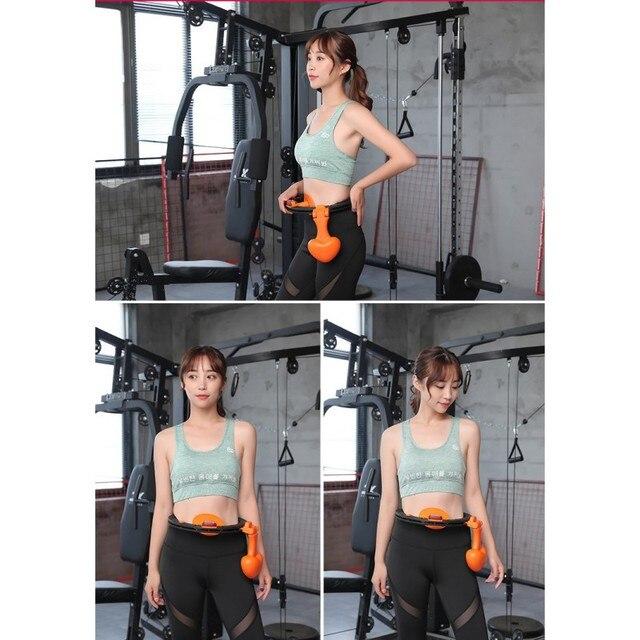 Sports Hoop thin waist girls abdomen increase beauty waist weight loss artifact fitness circle equipment 2