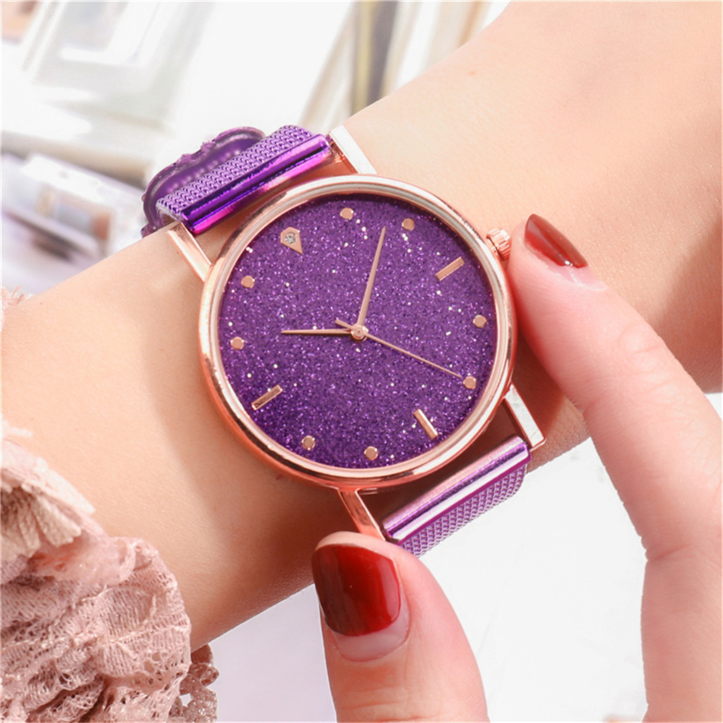 Fast delivery Fashion Business Women Watch Luxury Watches Quartz Watch Stainless Steel Dial Casual Bracele Watch Female new 2