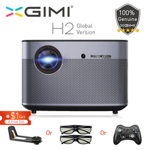 лучшая цена XGIMI H2 DLP Projector 1080P Full HD 1350Ansi Lumens 4K Projecteur 3D Support Android Wifi Bluetooth Home Theater Global version