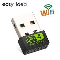 Adaptador Wifi USB, adaptador de Antena Wifi, tarjeta de red, receptor Wifi 2,4G, PC, Lan, mt7601