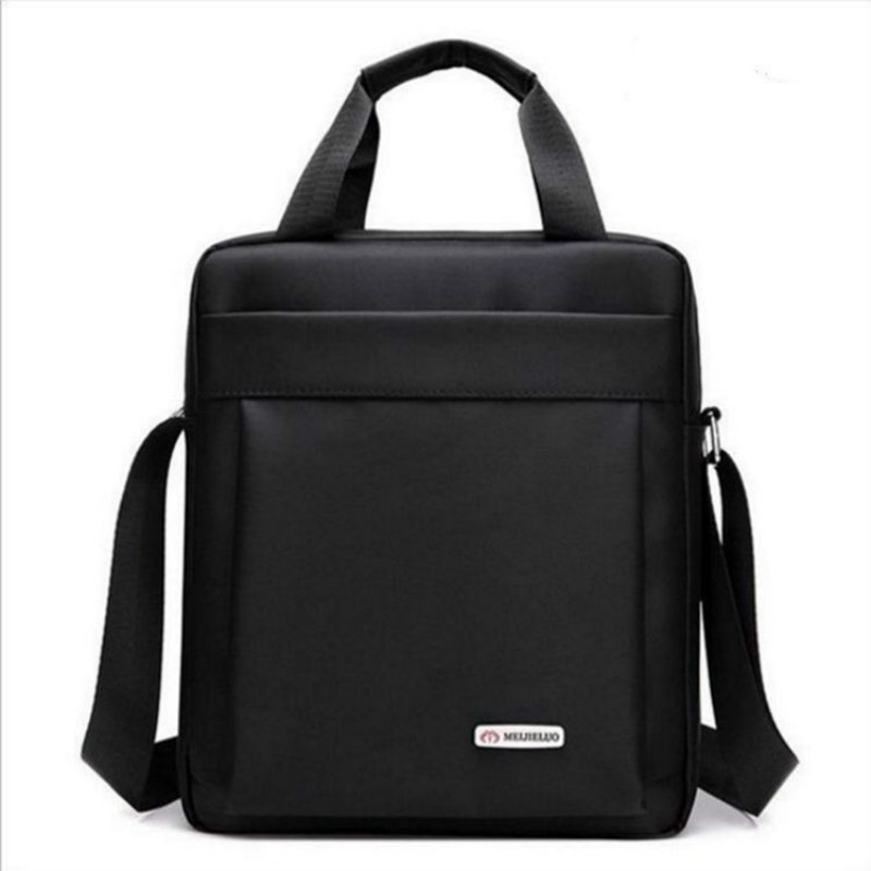High Quality Portfolio Satchel Portable Hand Work Business Office Male Messenger Bag Men Briefcase For Document Handbag