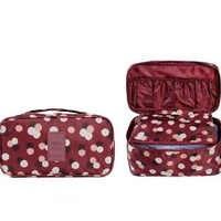 High Capacity Travel Box Underwear Bra Finishing Bag Cosmetics Bags Space Saver Multifunctional Wash Package Toiletry Organizer