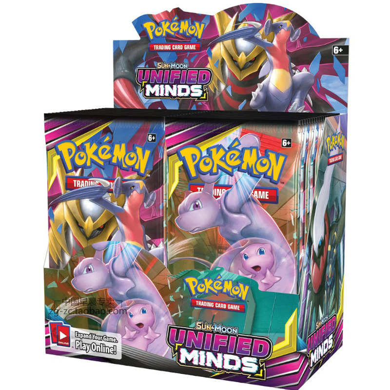 36 Packs Per Box Pokemon TCG: Sun & Moon Sm11 Forbidden Light Booster Sealed Box Collectible Trading Card Set Child Toy Gift