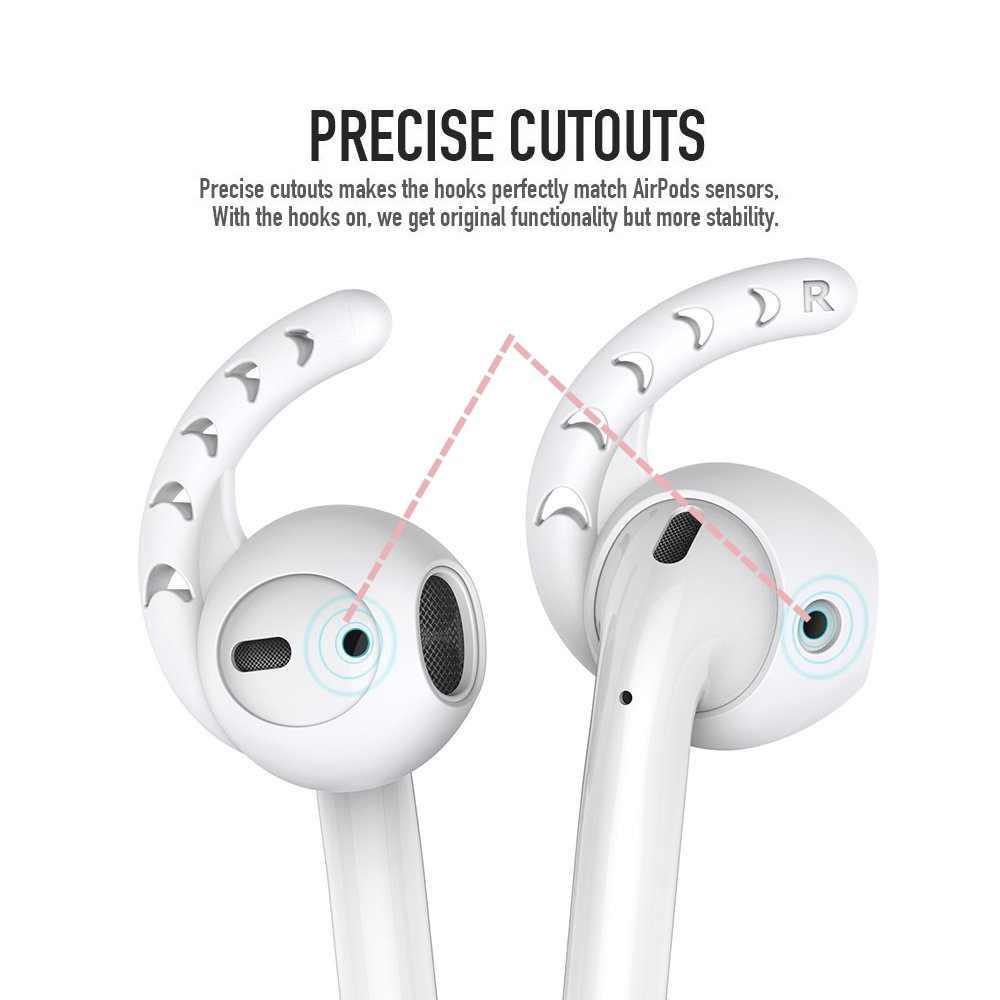 イヤホンケース I300 I200 I100 I1000 イヤフォン Apple の Iphone 5 Airpods 6 プラス 5 SE Earpods イヤーチップ耳羽フックキャップイヤーフック